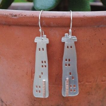 Quirky House earrings