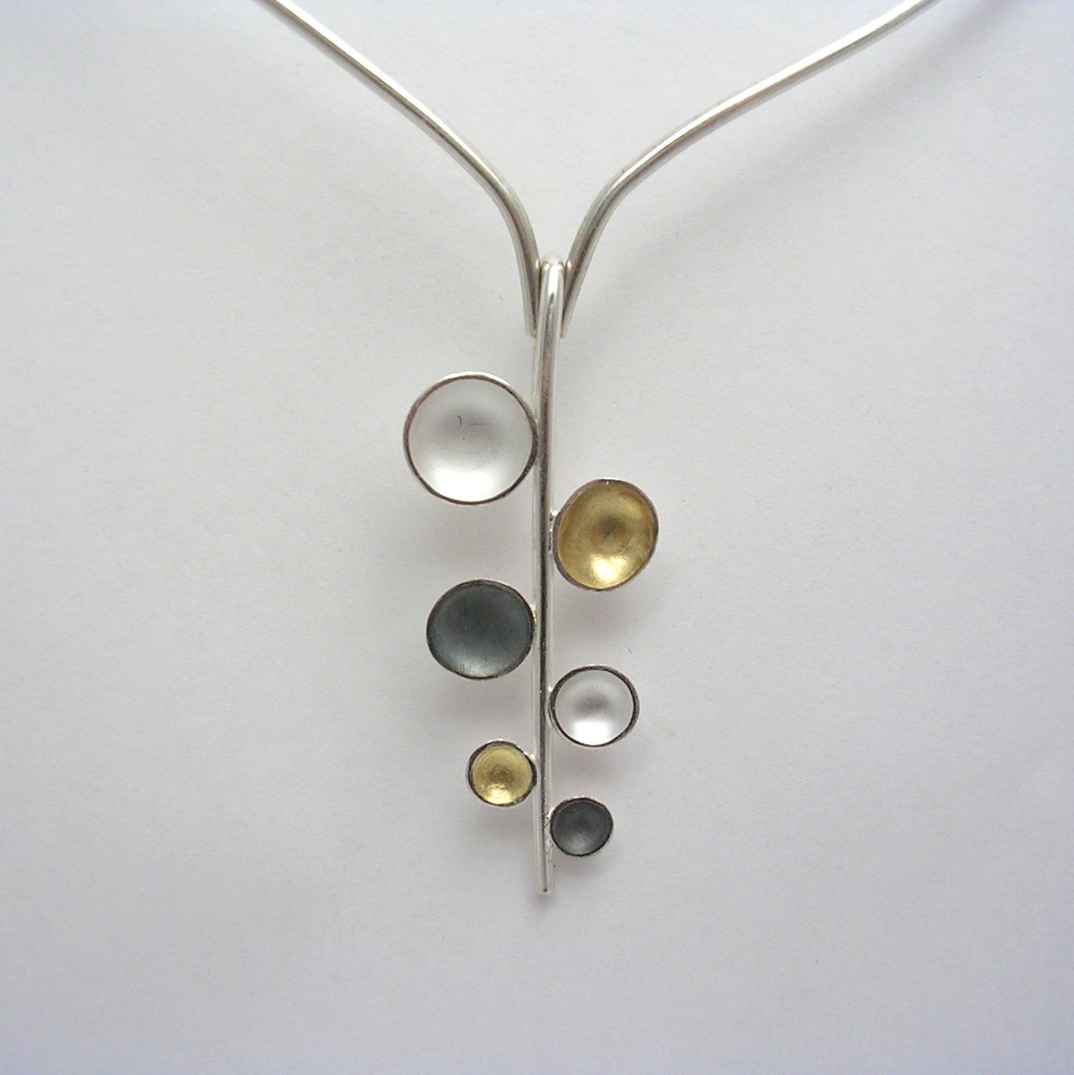 domed necklace