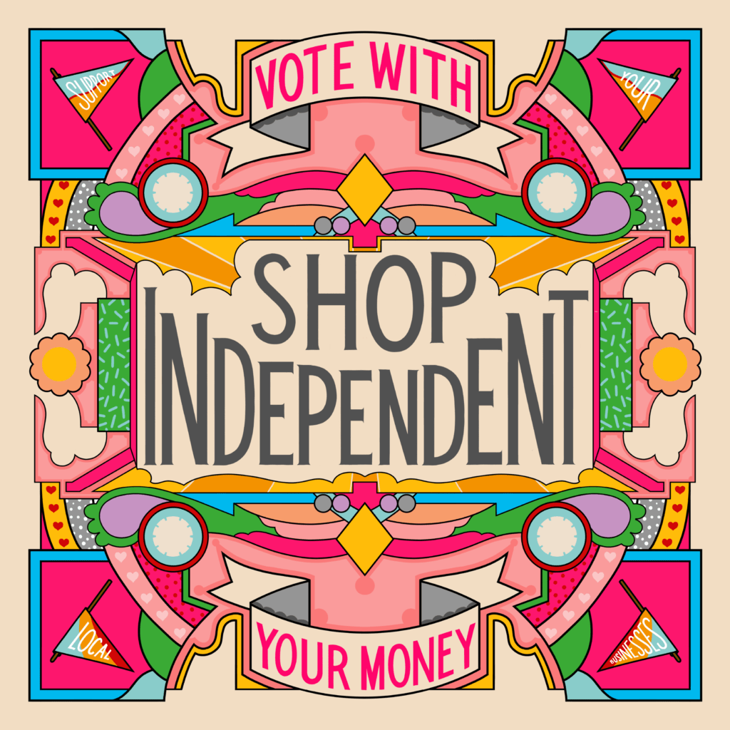 Rebecca Strickson - Holly & Co Campaign Shop Independent 2020