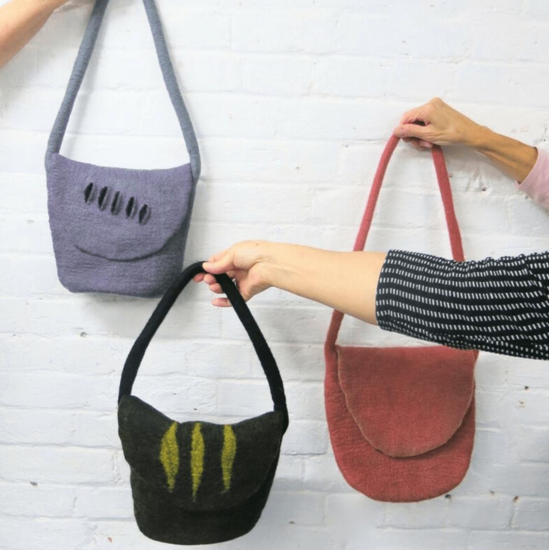 Felt Bags Workshop